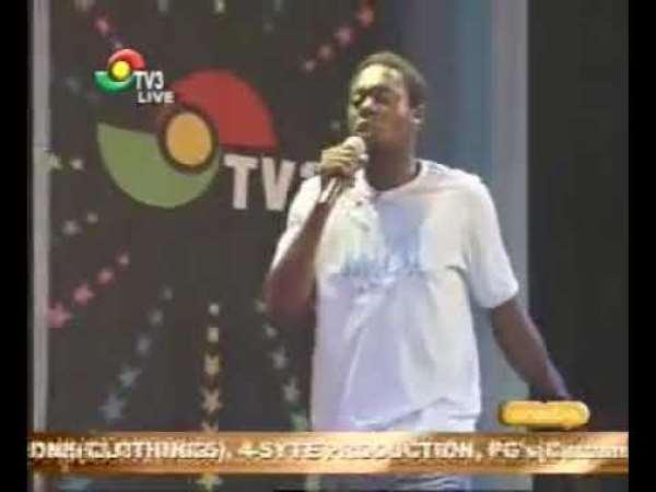 Throwback: The night Nigerian comedian Klint Da Drunk dazzled Ghanaians 14years ago with his 'iyuwiyuwiyuwiyuu'