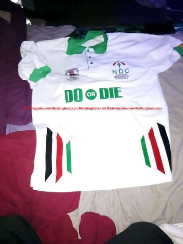 """Stay on the message, print T shirts for """"Do and Die"""" in 2024"""