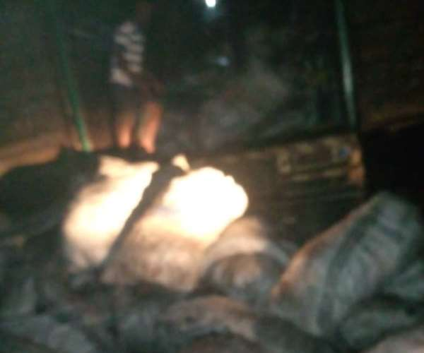 Damongo Youth Parliament, Canteen Youth confiscate 550 bags of charcoal
