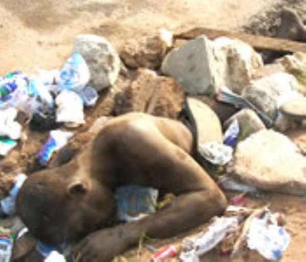 Alleged thief lynched at Adabraka