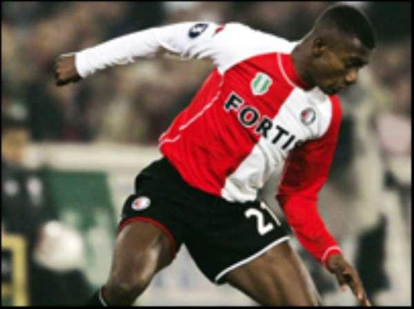 Kalou recently left Feyenoord for Chelsea