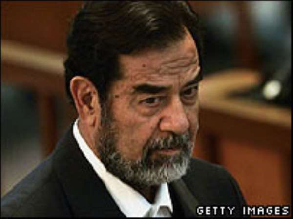 The US said Saddam Hussein was hanged after a