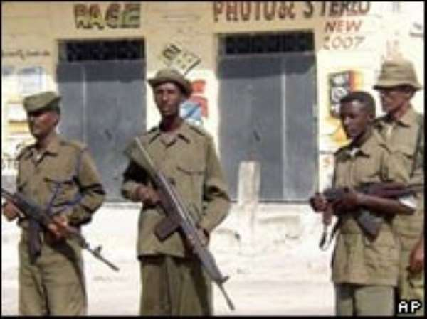 Somali police are continuing arms searches in Mogadishu