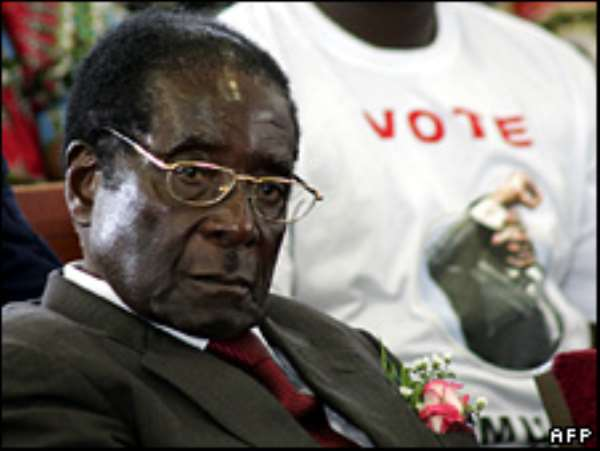 Ministers said Robert Mugabe was ready to fight 'to the last'