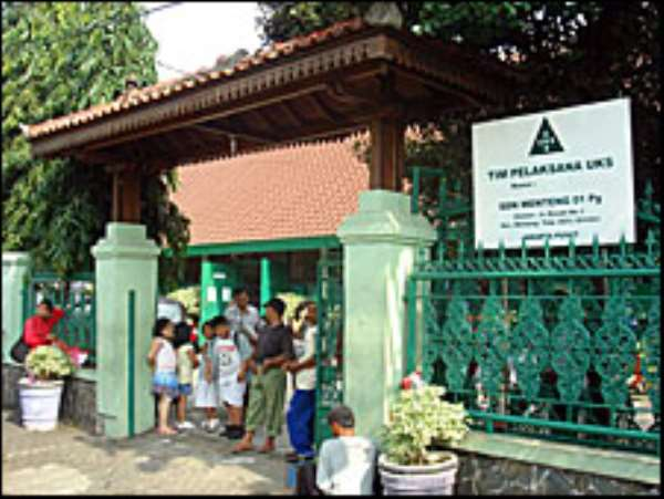 Classmates at Mr Obama's school in Jakarta noted his early ambition