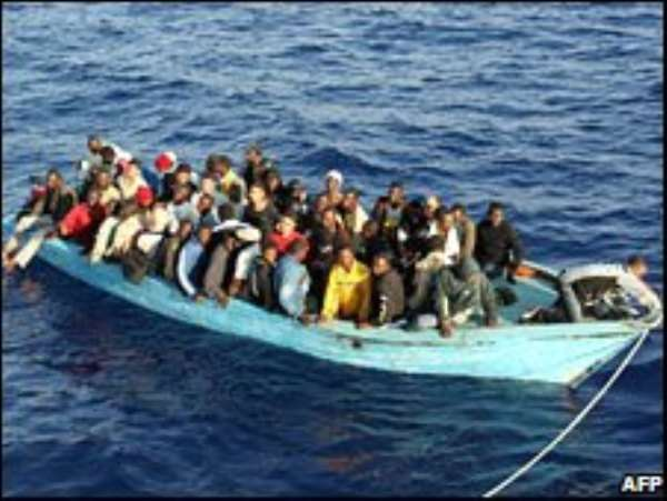 Many young Africans risk death to reach Europe