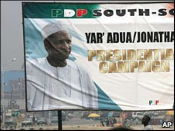 Umaru Yar'Adua's first 18 months have been marred by legal wrangles