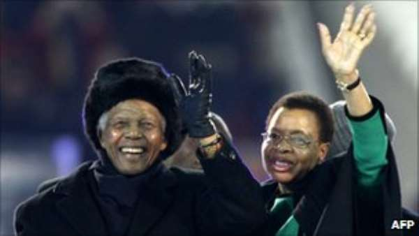 NELSON MANDELA: THE LAST GREAT AFRICAN KING RECEIVES AN EARLY BIRTHDAY PRESENT
