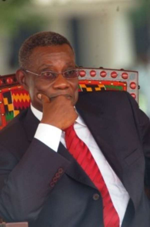 """""""I Feel Lonely"""" As President; Mills Confesses"""