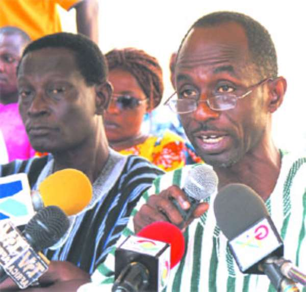 NDC Chairman arrested For allegedly diverting insecticides  meant for mass cocoa spraying