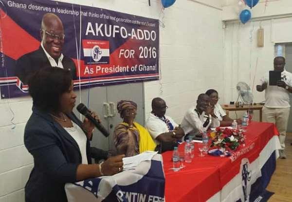 Ayorkor Botchwey: Akufo-Addo has support of 100 NPP MPs