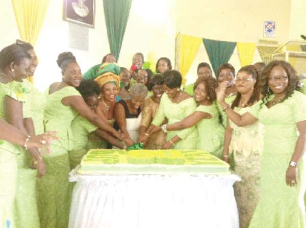 Aburi Girls old students support alma mater