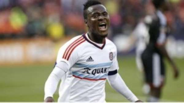 Ghana striker David Accam wants to excel this season to attract big offers