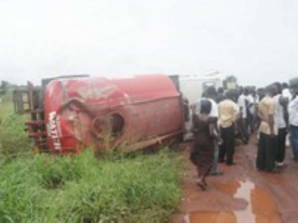 Water Tanker Crashes