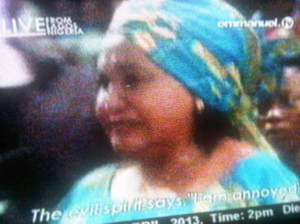 I'm A Witch--Veteran Actress Confesses To TB Joshua (Pictures)