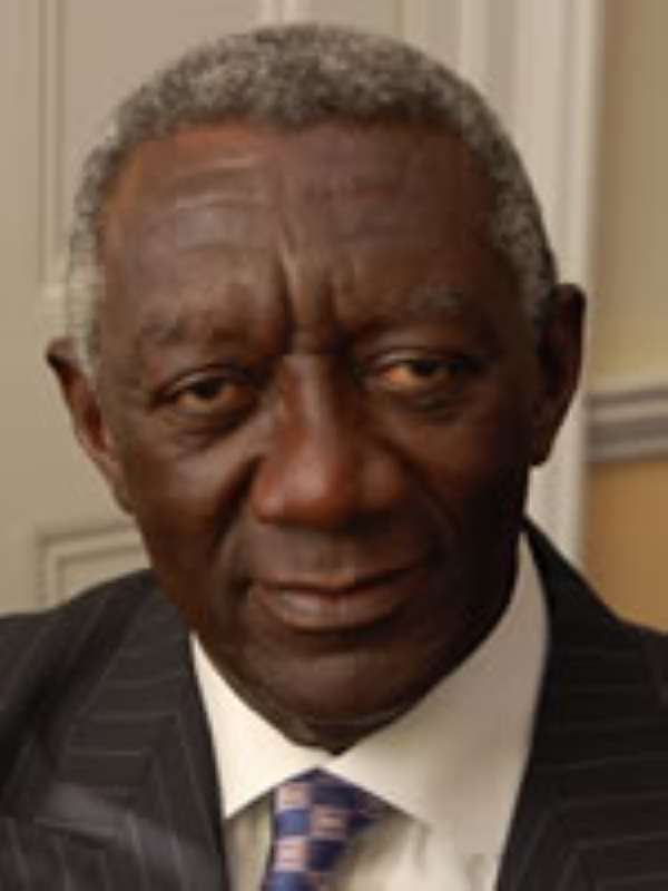 John Agyekum Kufuor, former president of the Republic of Ghana