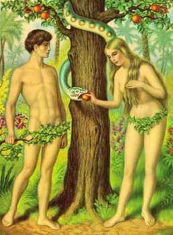 Adam And Eve My Foot