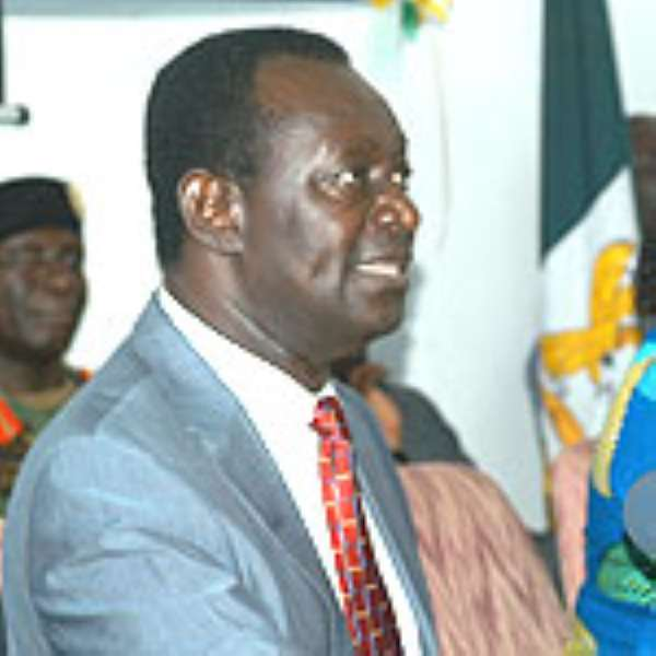 Dr Kwame Addo-Kufuor, Defence Minister