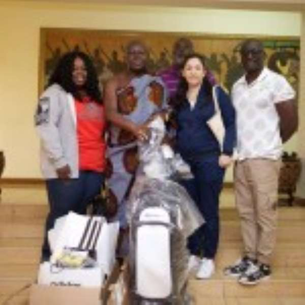 Adidas Gives To Otumfuo