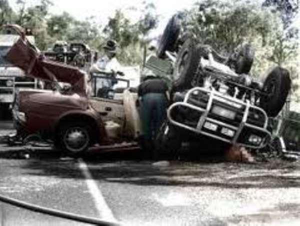 Eight perish in accident at Ejura-Atebubu road