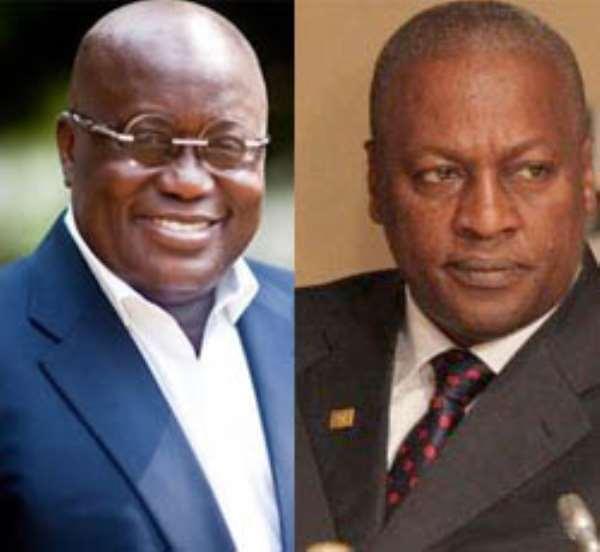 Election 2016: Akufo-Addo pales before John Mahama