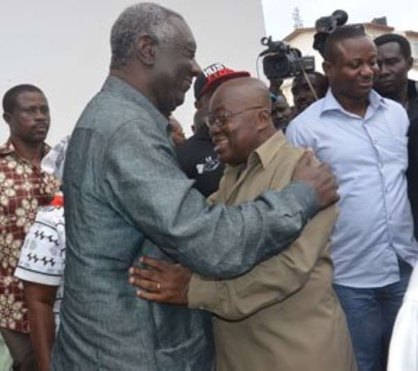 Former Prez. Kufuor, embraze Nana Akufo Addo