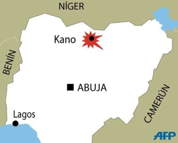 The engineer was kidnapped on the outskirts of Kano in January.  By  (AFP Graphic)