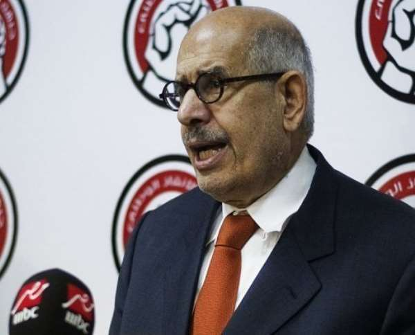Egypt's interim vice president Mohamed ElBaradei, pictured on June 27, 2013.  By  (AFP/File)