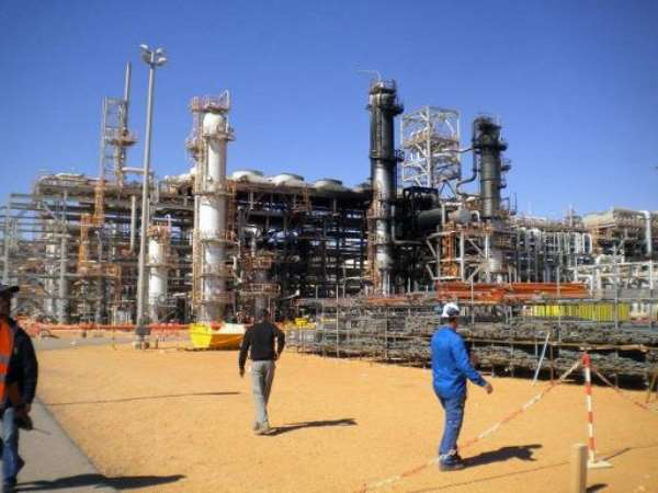 A gas plant in In Amenas seen on January 31, 2013, when it was opened to the press for the first time after dozens of foreigners were killed during a four-day standoff.  By  (Jiji Press/AFP/File)