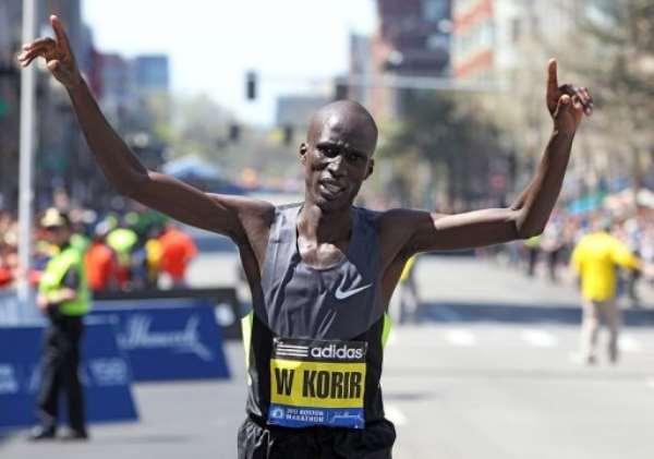 Wesley Korir.  By Jim Rogash (AFP/Getty Images)