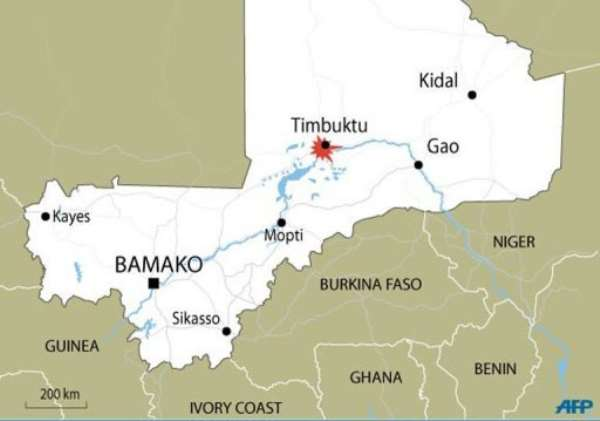 A Swiss woman abducted in rebel-held Timbuktu in northern Mali has been snatched from her captors.  By  (AFP/Graphic)