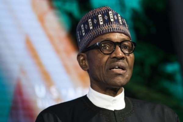 Nigeria has passed an expansive budget to stimulate growth but experts say President Muhammadu Buhari has been unable to secure enough financing to kickstart a quick recovery .  By Drew Angerer (Getty/AFP/File)