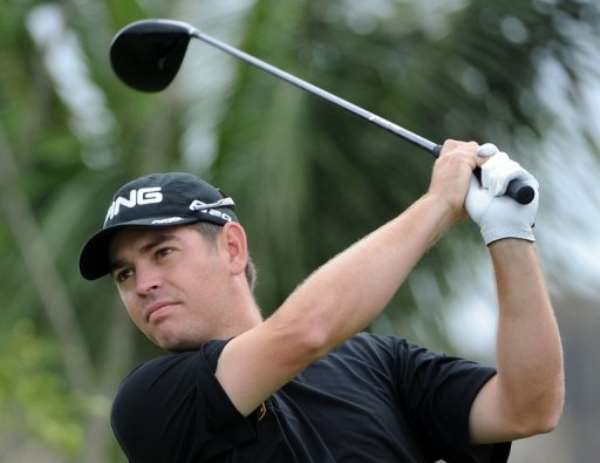 Oosthuizen in action at  the World Cup of Golf tournament in Haikou, Hainan Island.  By Mark Ralston (AFP/File)