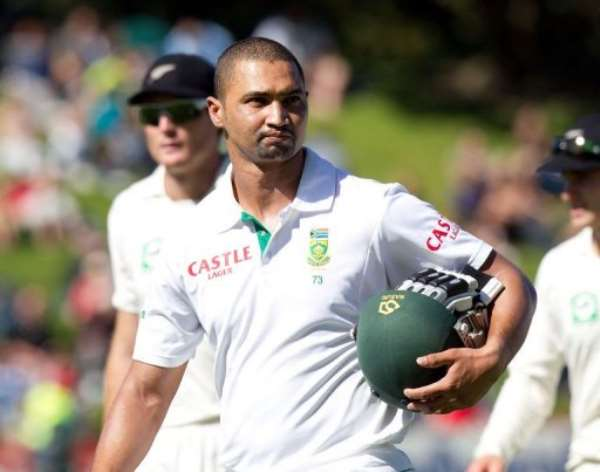 S.Africa's Alviro Petersen on Sunday reached his highest Test score.  By Marty Melville (AFP)