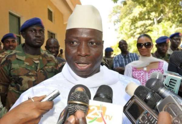 Yahya Jammeh's regime has been criticised for human rights violatons.  By Seyllou (AFP)
