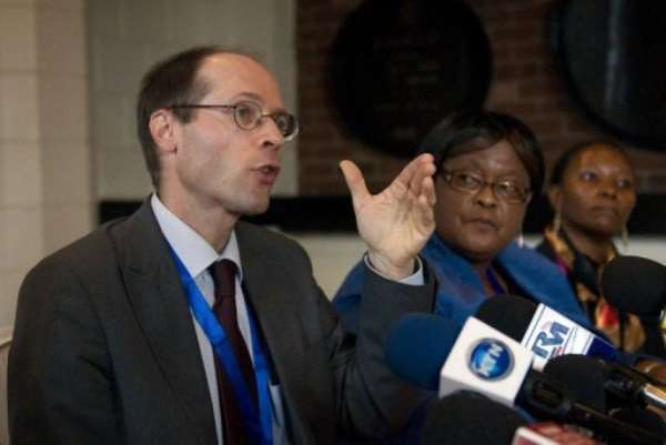UN Special Rapporteur on the right to food, Olivier De Schutter.  By Tony Karumba (AFP)