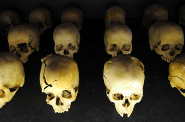 At least 800,000 people were killed during the Rwanda genocide in 1994.  By Steve Terrill (AFP/File)