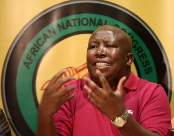 Julius Malema has called for South Africa's mines to be nationalised.  By Paballo Thekiso (AFP)