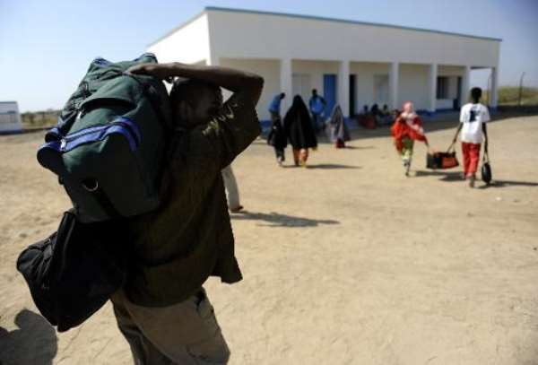 Around 900 people have crossed the Gulf Aden to Djibouti in just 10 days.  By Tony Karumba (AFP/File)