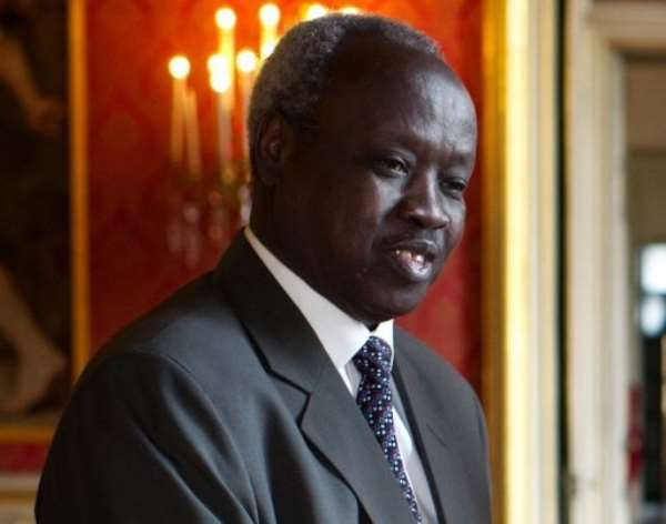 South Sudan's foreign minister Nhial Deng Nhial.  By  (AFP/File)