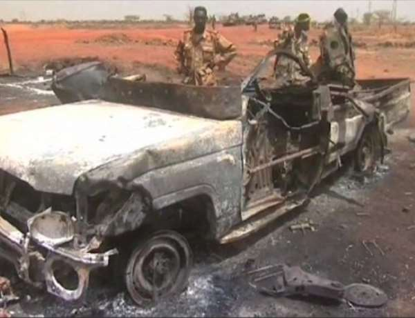 Sudan's army accuses South Sudan of backing a rebel attack on Talodi in South Kordofan state.  By  (AFP/File)