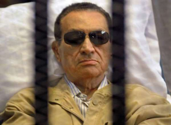 Hosni Mubarak ruled Egypt from 1981 to 2011.  By  (AFP/File)