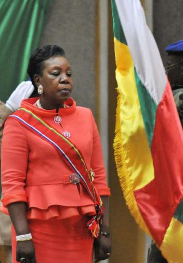Tough woman mediator at Central Africa's helm