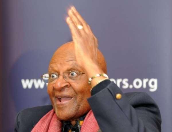 Chairman of the Elders, Archbishop Desmond Tutu.  By Sajjad Hussain (AFP/File)