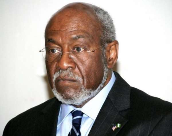 US assistant Secretary of State for African Affairs Johnnie Carson.  By Wole Emmanuel (AFP/File)