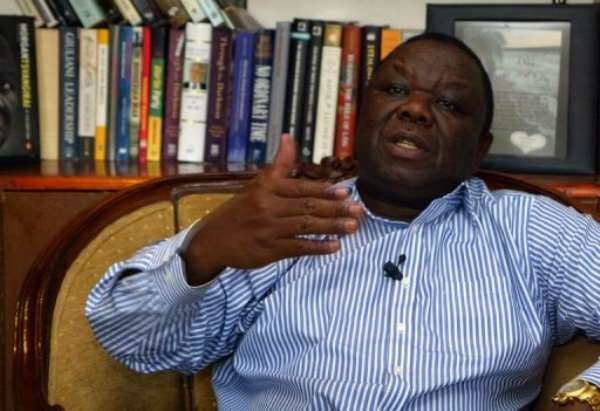 Zimbabwean Prime Minister Morgan Tsvangirai.  By Jekesai Njikizana (AFP)