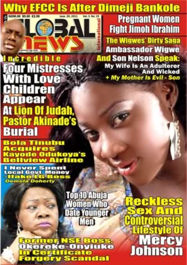 Reckless Sex And Controversial Lifestyle Of Mercy Johnson(global News Headline)