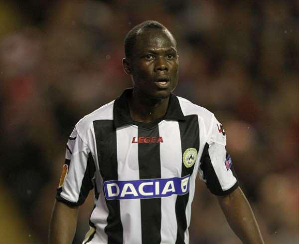 Agyemang-Badu's Udinese crash out of Europa League