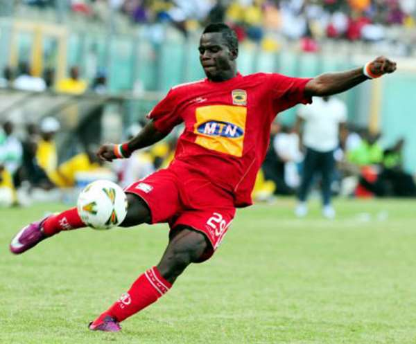 Ahmed Toure swerves Hearts to re-join Kotoko on three-year deal