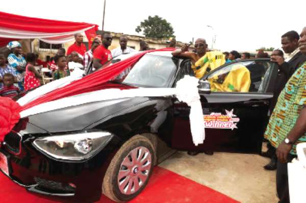 70-year-old chief wins BMW in Airtel promo